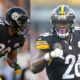 Steelers Le'Veon Bell and James Connor
