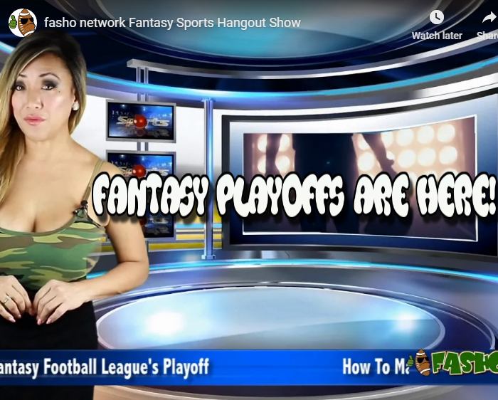Fantasy Playoff Are Here
